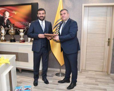 Çubuk Belediye Başkanı Baki Demirbaş'dan Ankaragücü'ne Ziyaret