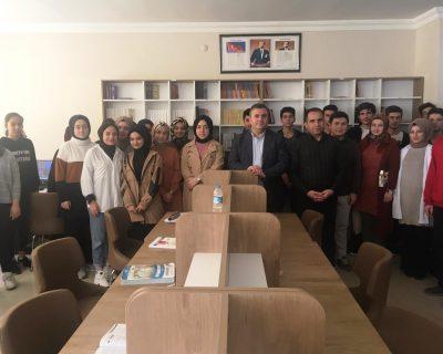 Başkan Demirbaş, Öğrencilerle Buluştu