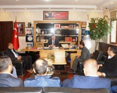 Çubuk'ta MHP'den Başkan Demirbaş'a Ziyaret