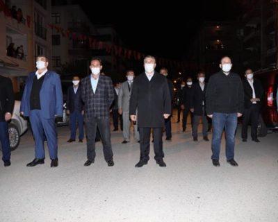 İstiklal Marşımız Sokak ve Caddelerde Çınladı