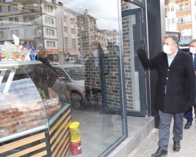 "Çubuk'ta vatandaşlara ""maskesiz çıkma"" çağrısı"
