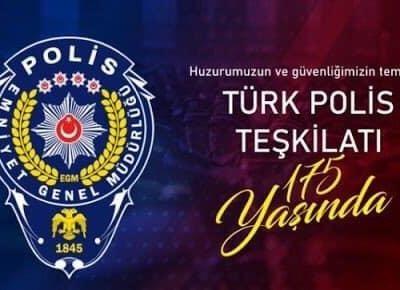 Başkan Demirbaş, Türk Polis Teşkilatının 175. yılını kutladı
