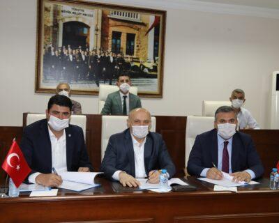 Çubuk Belediyesi'nde Toplu İş Sözleşmesi İmzalandı
