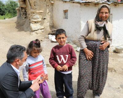 Çubuk'ta İhtiyaç Sahibi Aileye Belediyeden Yardım Eli