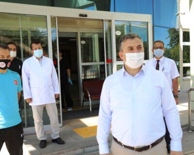 Kovid-19 Tedavisi Tamamlanan Belediye Başkanımız Taburcu Edildi