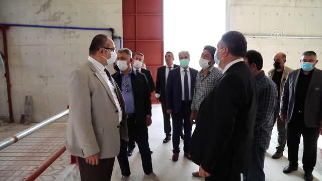 Vali Yardımcısı Dölek, Çubuk Hayvancılık İhtisas OSB'yi inceledi