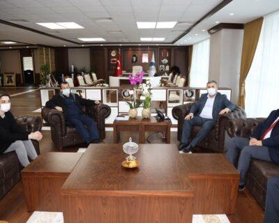 Başhekim Kılınç'tan Başkan Demirbaş'a Ziyaret