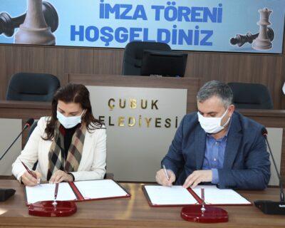 6.Uluslararası Açık Satranç Turnuvası'nın protokolü imzalandı