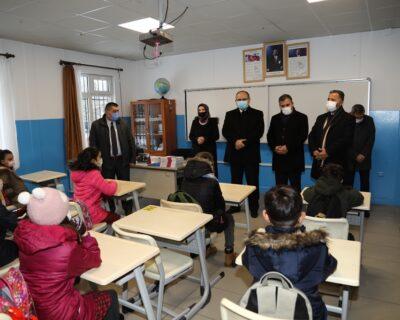 Çubuk'ta Kırsal Mahallelerde Yüz Yüze Eğitim Başladı