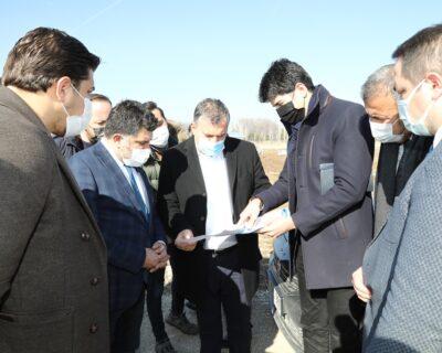 Çubuk Belediye Başkanı Baki Demirbaş, Millet Bahçesi İnşaatını İnceledi