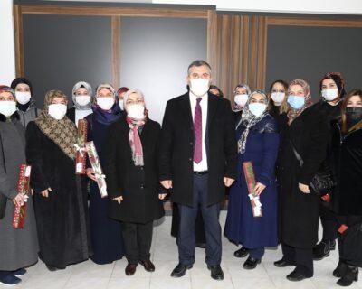 Çubuk Belediye Başkanı Demirbaş, Dünya Kadınlar Günü'nü kutladı