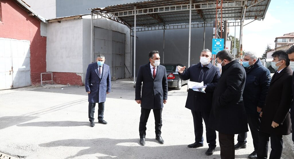 Kalkınma Ajansları Genel Müdürü Yeniçeri, Çubuk'ta incelemelerde bulundu