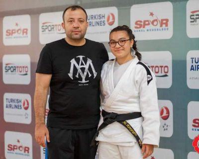 Çubuk Belediyesi sporcusu Hatice Koçyiğit, judoda Türkiye birincisi oldu