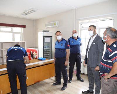 Çubuk'ta zabıta ekipleri okul kantinlerini denetledi