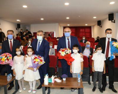 Çubuk'ta İlköğretim Haftası törenle kutlandı