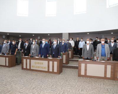 Çubuk Muhtarlar Derneği 10. Olağan Genel Kurulu yapıldı.