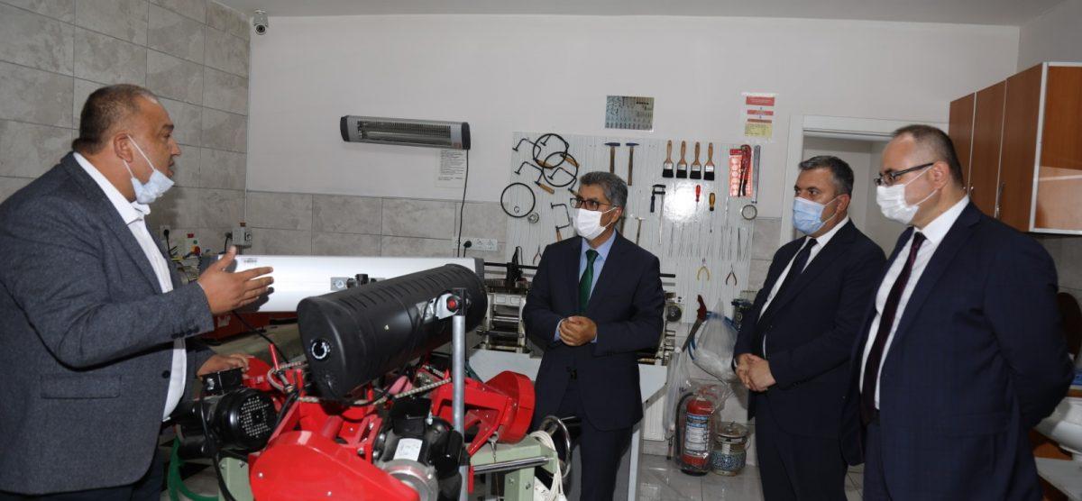 Ankara Kalkınma Ajansı Genel Sekreteri Cahit Çelik, Çubuk ilçesinde temaslarda bulundu.